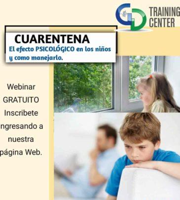 Cuarentena: Efecto Psicológico en Niños