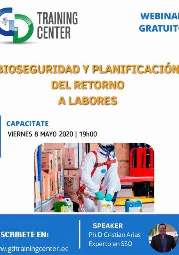 Bioseguridad y Planificación del Retorno a Labores